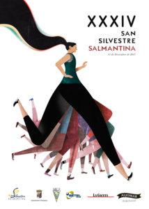 XXXIV Carrera Popular San Silvestre Salmantina Salamanca Diciembre 2017