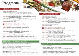 Programa VII Feria Ecoraya Salamanca - Beira Interior Diciembre 2017