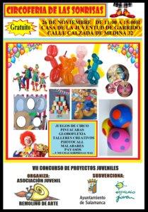 CircoFeria de las Sonrisas Remolino de Arte Salamanca Noviembre 2017