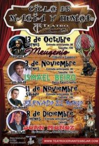 Teatro Cervantes Ciclo de Magia y Humor Béjar 2017