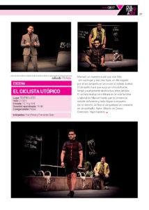 Teatro Liceo El ciclista utópico Salamanca Noviembre 2017