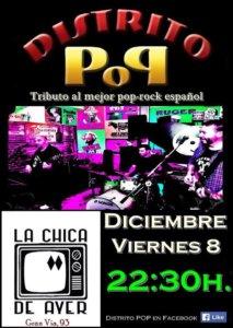La Chica de Ayer Distrito Pop Salamanca Diciembre 2017