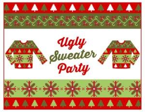 St Patrick's Irish Pub Ugly Christmas Sweater Party Salamanca Diciembre 2017