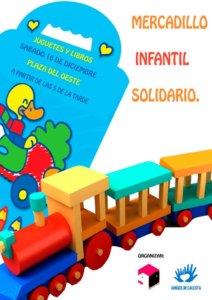 Plaza del Oeste IV Mercadillo Solidario de Juguetes y Libros Usados ZOES Salamanca Diciembre 2017