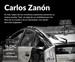 Letras Corsarias Carlos Zanón Salamanca Diciembre 2017