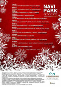 Programa La Alamedilla Navipark Diciembre 2017 Enero 2018