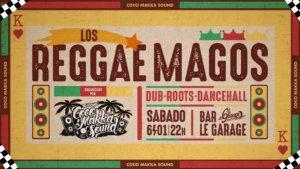 Le Garage MCC Fiesta Los Reggae Magos Salamanca Enero 2018