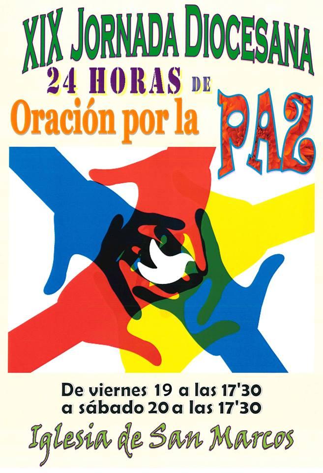 San Marcos 24 Horas de Oración por la Paz Salamanca Enero 2018