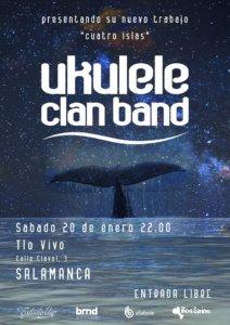Tío Vivo Ukelele Clan Band Salamanca Enero 2018