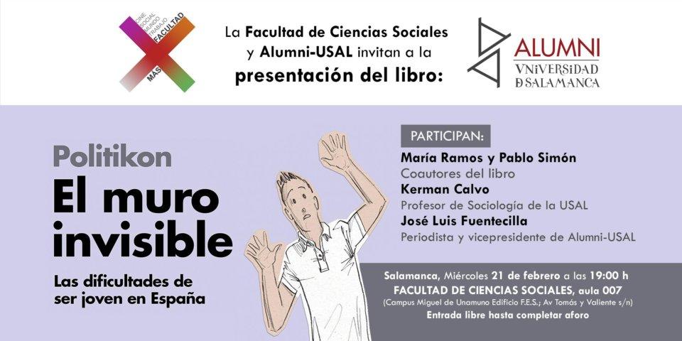 Facultad de Ciencias Sociales El muro invisible Alumni Usal Salamanca Febrero 2018