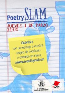 Sala Micenas Adarsa Poetry Slam Salamanca Marzo 2018