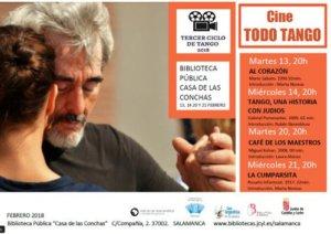 Casa de las Conchas III Ciclo de Cine Todo Tango Salamanca Febrero 2018