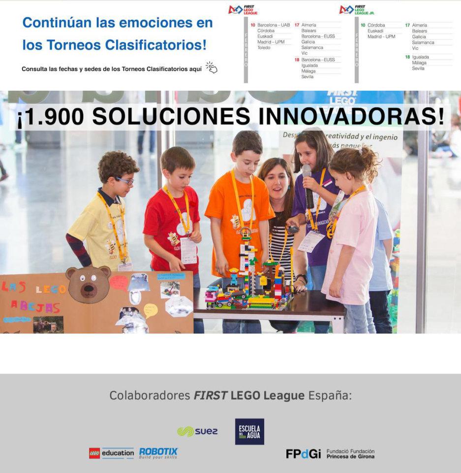 Hospedería Fonseca II FIRST LEGO League Universidad de Salamanca Febrero 2018