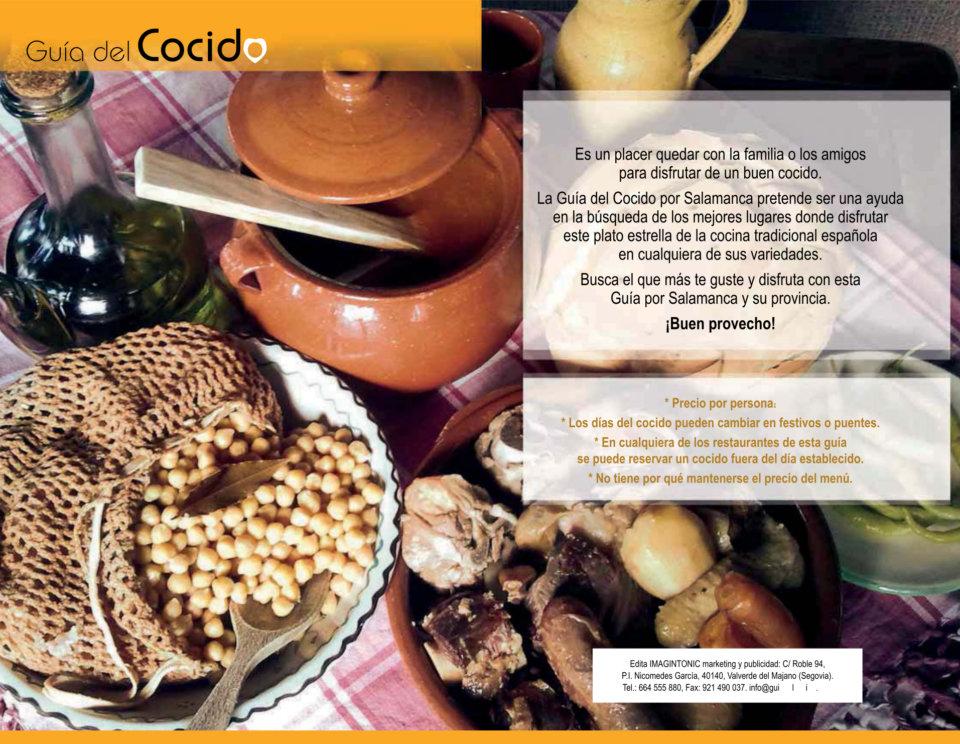 Guía del Cocido por Salamanca 2018