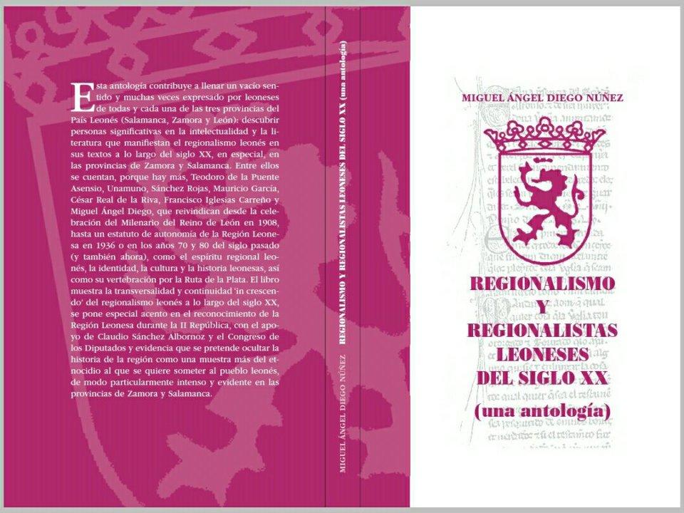Teatro Liceo Regionalismo y regionalistas leoneses del siglo XX una antología Salamanca Marzo 2018