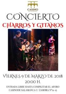Casino de Salamanca Charros y Gitanos Marzo 2018