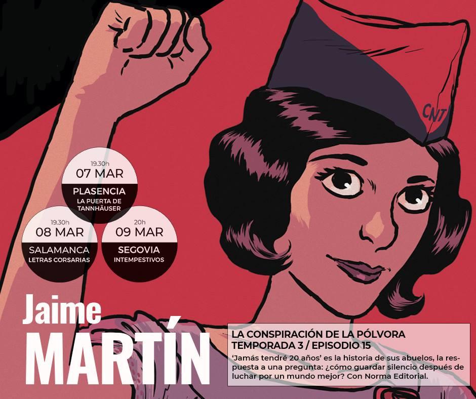 Letras Corsarias Jaime Martín Salamanca Marzo 2018