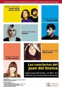 Los conciertos del Juan del Enzina Salamanca 2018