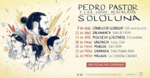 Centro de las Artes Escénicas y de la Música CAEM Pedro Pastor y Los Locos Descalzos Conciertos Sala B Salamanca Abril 2018