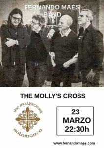 The Molly's Cross Fernando Maés Band Salamanca Marzo 2018