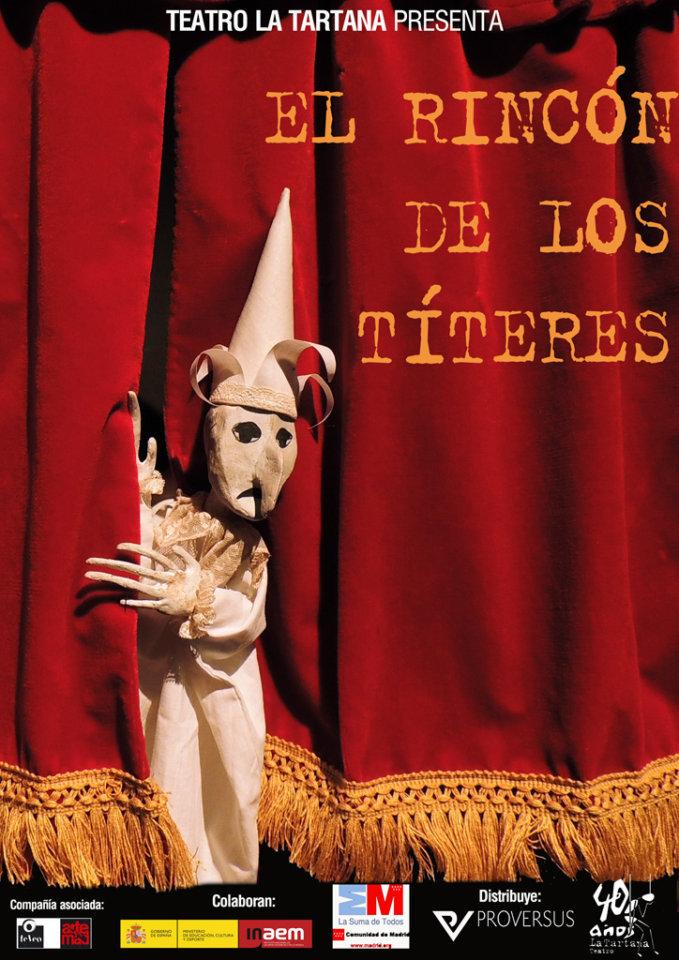 Teatro Liceo El rincón de los títeres Salamanca Marzo 2018
