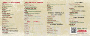 Casetas XV Feria de Día Salamanca Septiembre 2018