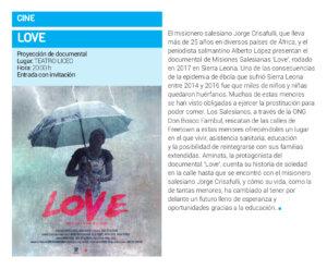 Teatro Liceo Love Salamanca Abril 2018