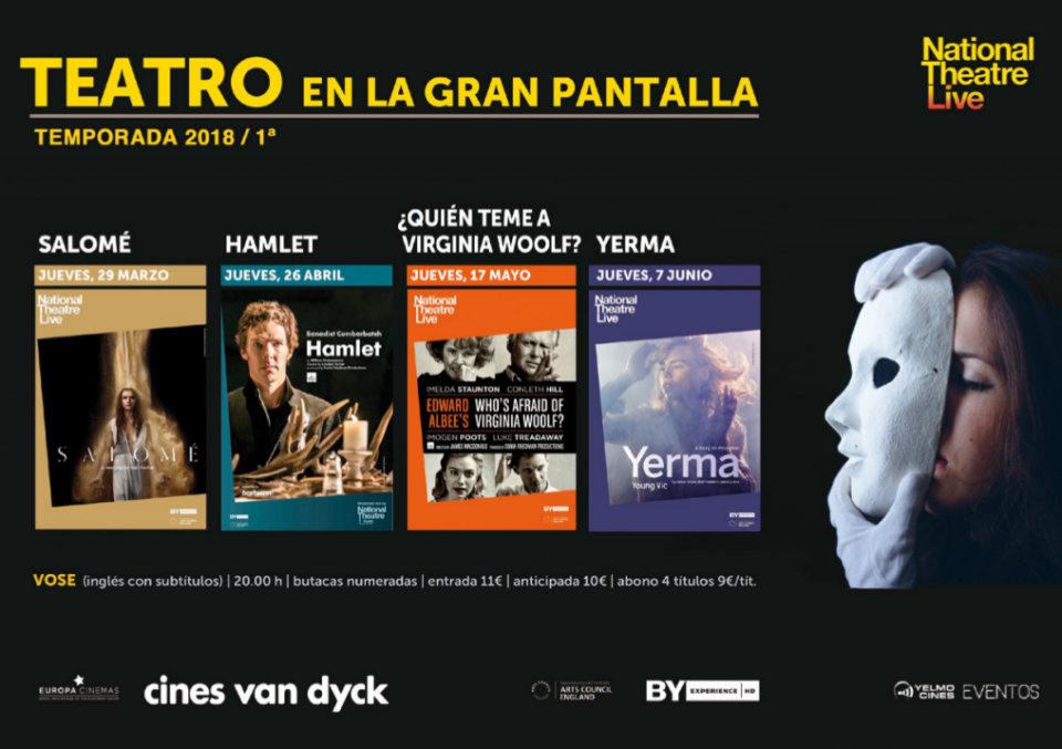 Cines Van Dyck Teatro en Gran Pantalla 2018/I