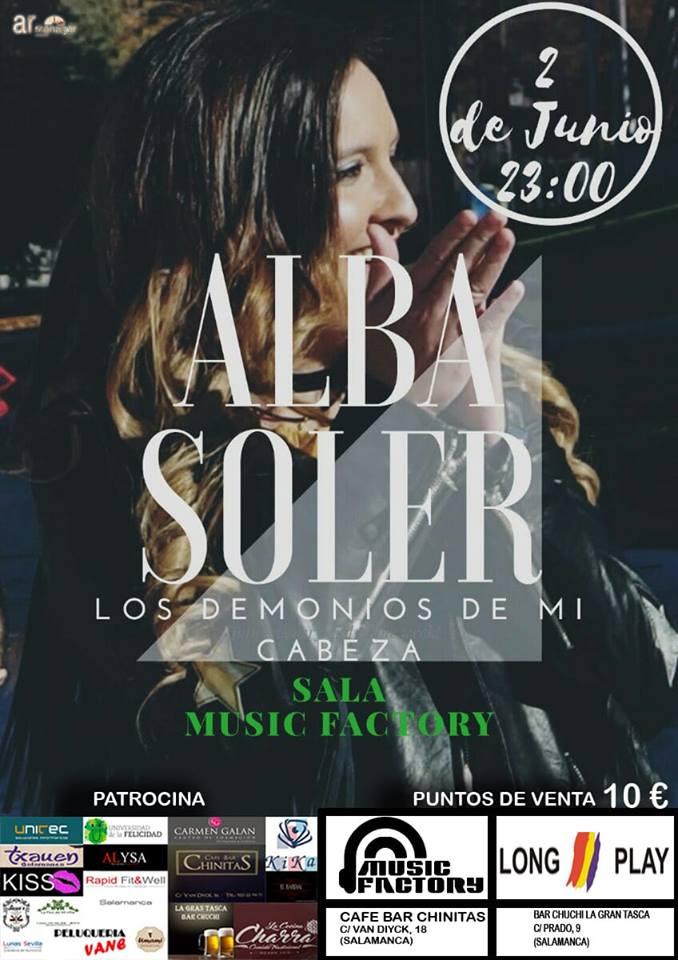 Music Factory Alba Soler Salamanca Junio 2018