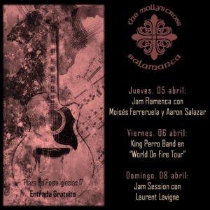 The Molly's Cross 5 al 8 de abril de 2018 Salamanca