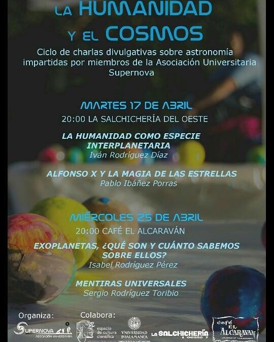 Salamanca La Humanidad y el Cosmos Supernova Abril 2018