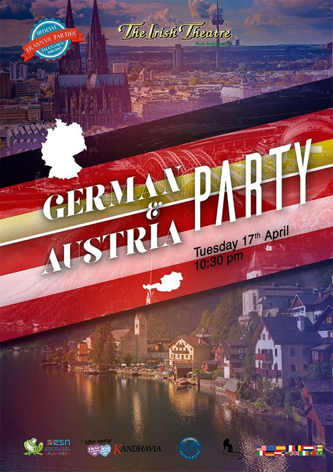 The Irish Theatre German & Austria Party Salamanca Abril 2018
