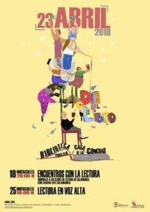 Casa de las Conchas Día Internacional del Libro Salamanca Abril 2018