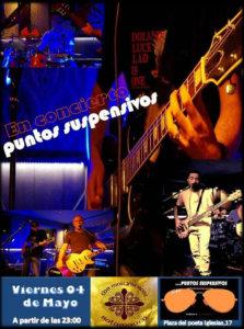 The Molly's Cross Puntos Suspensivos Salamanca Mayo 2018
