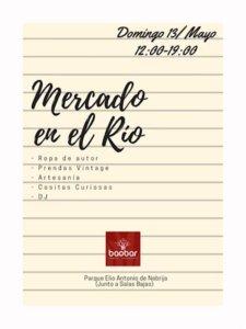 Baobar Mercado en el Río Salamanca Mayo 2018