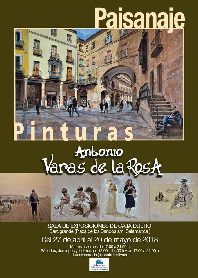 Palacio de Garcigrande Paisanaje Salamanca Abril mayo 2018