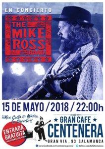 Centenera The Mike Ross Band Salamanca Mayo 2018