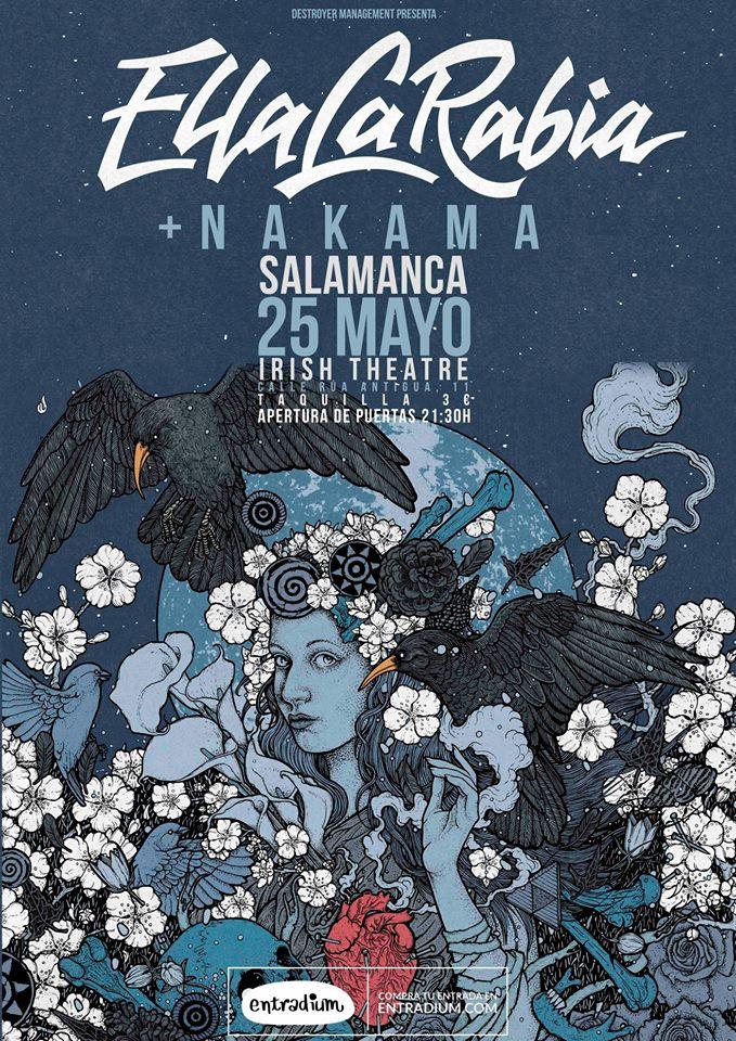 The Irish Theatre En la Rabia + Nakana Salamanca Mayo 2018