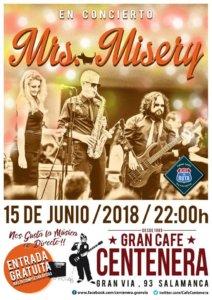Centenera Mrs. Misery Salamanca Junio 2018