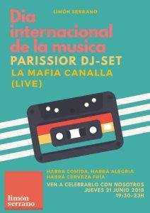 Limón Serrano Día Internacional de la Música Salamanca Junio 2018