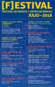 Festival de Música y Artes Escénicas Salamanca Julio 2018