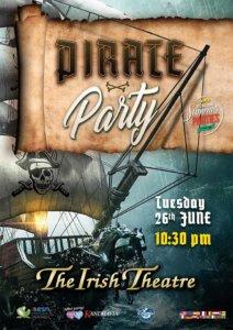 The Irish Theatre Fiesta Pirata Salamanca Junio 2018