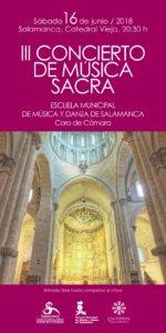 Catedral Vieja III Concierto de Música Sacra Salamanca Junio 2018