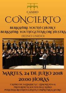 Casino de Salamanca Berkshire Youth Choir Julio 2018