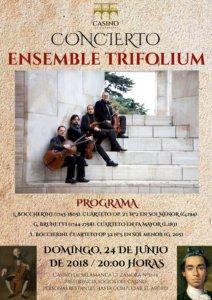 Casino de Salamanca Ensemble Trifolium Junio 2018