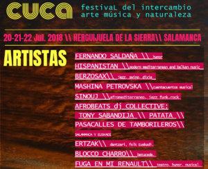 Herguijuela de la Sierra Cuca 4 Caminos Festival Julio 2018