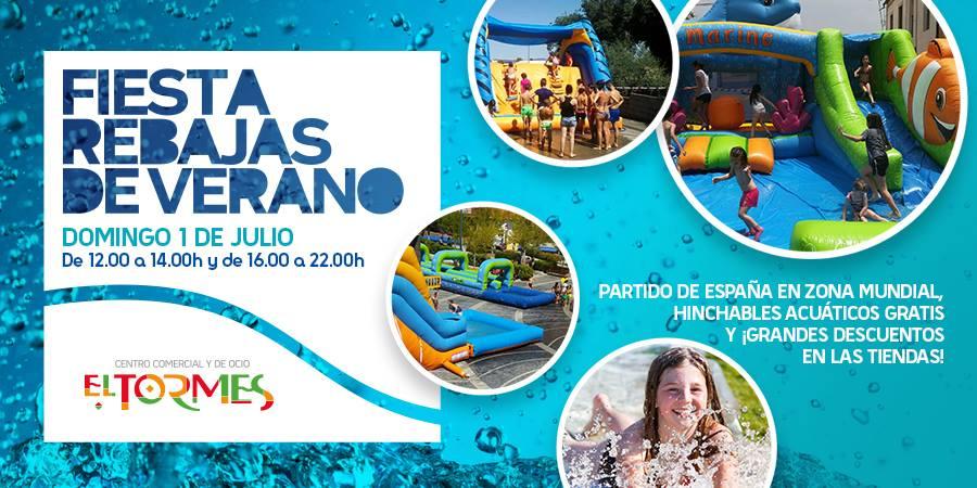 Centro Comercial El Tormes Fiesta de las Rebajas de Verano Julio 2018