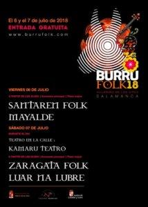 Villarino de los Aires Burro Folk 2018 Julio
