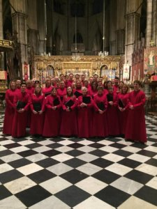 Catedral Vieja St Mary's Choir Wimbledon Salamanca Julio 2018