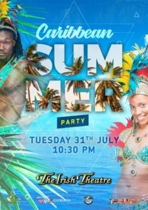 The Irish Theatre Caribbean Party Salamanca Julio 2018